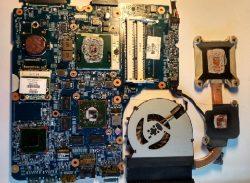 Замена термопасты системы охлаждения ноутбука